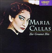 MARIA CALLAS - Her Greatest Hits (opera) CD [B11]