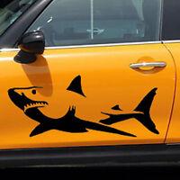 Weißhai Fisch Autofenster Wand Aufkleber Sticker Wasserfest Reflektierend Mode