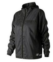 New Balance Women's Light Pack Long Sleeve Jacket Black - Size Large
