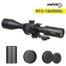 Sniper Nt3-18X50 Rifle Scope Second Focal Plane Illuminated Rangefinder Reticle