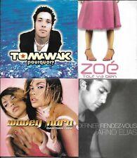 LOT 8 SINGLES VF COLLECTOR NEUF KAMALDINE/TOMAWAK/NEILL/ZOE/ARNO ELIAS/SUSTRAC