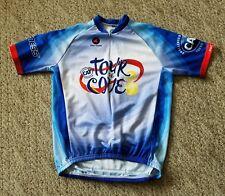 Euc Classic Pactimo Men's Cycling Jersey Shirt Size Small S Tour de Cove