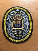SPAIN VALENCIA PATCH POLICE POLICIA LOCAL ALMASSERA - ORIGINAL!