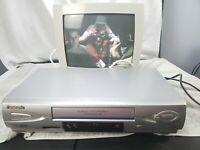 Panasonic PV-V4612S VCR OmniVision 4-Head Video Cassette Recorder VHS Player