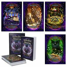 Witches' Wisdom Oracle Cards & Guidebook 48 Tarot Nemesis Now Wiccan Pagan
