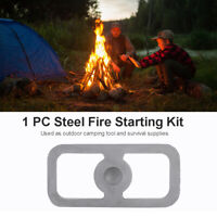 Portable Outdoor Survival Camping High-carbon Steel Fire Starting Tools Kits