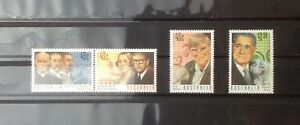 Australia 1995 Medical Science Complete Set 4v MNH
