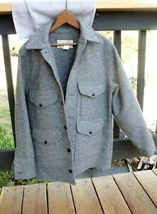 FILSON Heavy Mackinaw Cruiser Wool Hunting Coat Jacket USA Mens Size 40