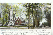 America Postcard - Nashua - New Hampshire - Soldiers Monument - Ref 15141A