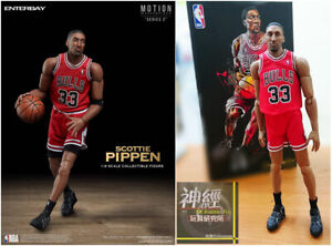 ENTERBAY 1/9 Scale Scottie Pippen ACTION FIGURE NBA CHICAGO BULLS MM-1208