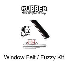 1957 1958 Cadillac Beltline Window Fuzzy Sweeper Kit