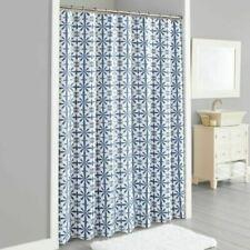 Lummi Shower Curtain In Navy Indigo