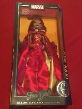 """Madame Alexander Collection Fan Girl 13.5"""" Doll Marvel Variant Iron Man New Mib"""