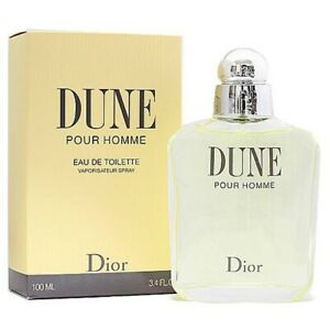 DUNE POUR HOMME * Dior 3.4 oz / 100 ml Eau de Toilette (EDT) Men Cologne Spray