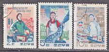 KOREA 1968 used SC#845/47 set, Domestic Goods.