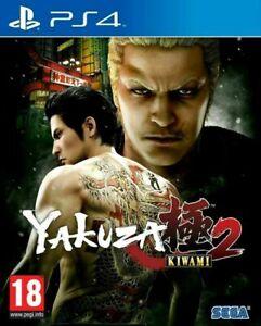 Yakuza Kiwami 2 PS4 * NEW SEALED PAL *