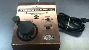 Vintage MRC Throttle Pack Train Control Model 500 N