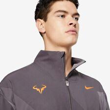 NikeCourt Rafa Men's Tennis Jacket Bull Tennis Nadal Training Casual Full Zip L
