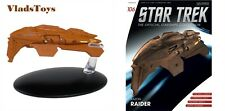 Eaglemoss Diecast Star Trek Kazon Warship Raider #106 with Magazine