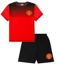 Boys Official Manchester United Football Club MUFC  Short Pyjamas