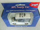 RARE 2000 AFL Football Collectable Club Car GEELONG CATS T Model Ford