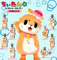 Chiitan ? metal key chains All 8 set Gashapon mascot toys Complete set