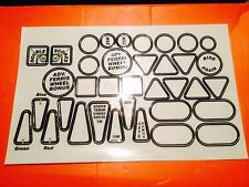 cyclone pinball playfield decals