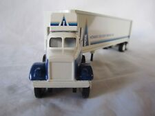 Winross 1982 Howard Delivery Service White 9000 Tractor Trailer