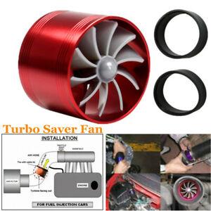 Car Turbo Fuel Saver Fan with Single Propeller Air Intake Turbonator Saver Turbo