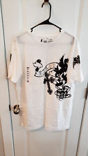 NEW Official Elysium Crystalline White T-Shirt Size XL MMA Cage Fighting UFC