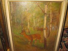 APPEL Karl.,*1866 Rehe in Waldlichtung