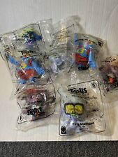 McDONALD'S 2020 TROLLS WORLD TOUR HAPPY MEAL TOYS! Lot Of 7 #5,#6, #7 & #10