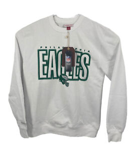 Brand New Men's Mitchell & Ness NFL Philadelphia Eagles Pullover Sweatshirt L
