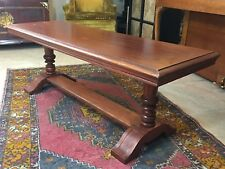 Vtg Brandt End Table Mcm Side Coffee Hagerstown Maryland Wooden Long Beautiful