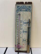 Antique / Vintage Barometer Thermometer.