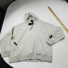 Nike Men's XL hoodie gray pullover Long Sleeve  standard just do it logo n