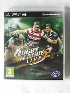 Rugby League Live 2 Playstation 3 Game PS3 complete FREE SHIPPING