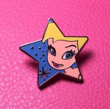 DISNEY PIN - Peter Pan Fairy TINKER BELL Face Head on Small Blue Star DS