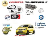 FOR SEAT Mii 1.0 2011-> WATER PUMP + GATES TIMING CAM BELT TENSIONER KIT