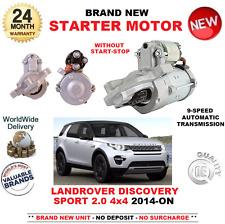PARA LAND ROVER DISCOVERY SPORT LC 2.0 4X4 MOTOR DE ARRANQUE 14-ON AUTO 9 SPEED