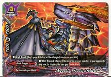 """4x Abygale, """"Deadly Oblivion"""" Buddyfight Promo Rare HOT MINT FREE SHIP"""