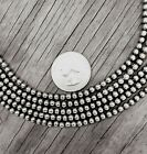 Navajo Pearls Necklace ~ All 4mm Beads ~ Choose Length ~