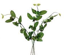 "Sedum Greenery Stems~Set of 3~Green~24""~PVC/Silk/Artificial"