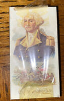 Kinney Bros Cigarettes Leaders George Washington Card  new Sealed