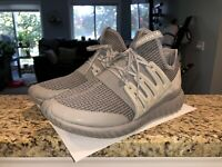 Men's 9.5 ADIDAS Tubular Radial Gray Grey Sneaker Boost - Used