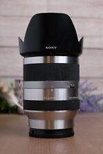 Sony SEL18200 18-200mm F3.5-6.3 OSS E-mount Zoom Lens Silver ***READ***