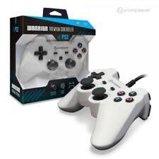 HYPERKIN Sony Playstation 2 PS2 Warrior Premium Controller White BRAND NEW PB358