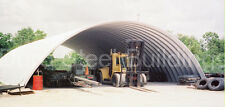 DuroSPAN Steel 42x60x15 Metal Quonset Arch Building Kit Open Ends Factory DiRECT