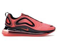 Nike Air Max 720 Red Bright Crimson Black Sneakers (AO2924-600) Men's Size 9.5