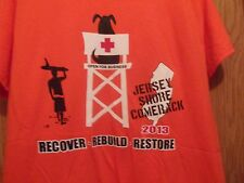 Jersey Shore Comeback 2013 RE cover Build Store orange graphic M t shirt